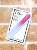 ガラスの爪やすり 【チェコ製】 Sサイズ限定 50本~!|女性向けノベルティならC2Labにおまかせ|オリジナル名入れ・印刷|おしゃれノベルティ