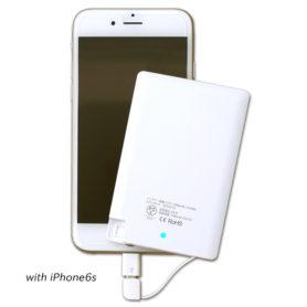 【PSEマーク付き】スリム&コンパクト モバイルバッテリー 【Slimoba / スリモバ】2500mAh-3