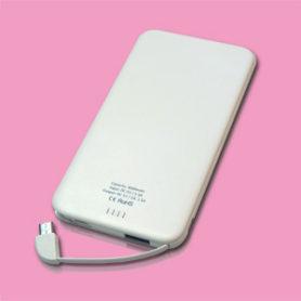 ■スリム&軽量■ モバイルバッテリー 【Slimoba / スリモバ】4000mAh-2