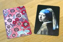 「割れない」 カードミラー(日本製)|女性向けノベルティならC2Labにおまかせ|オリジナル印刷・名入れ|おしゃれノベルティ|名刺・クレジットカードサイズ
