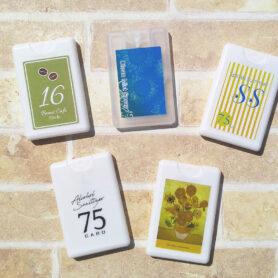 カード型アルコール除菌スプレー【日本製】|女性向けノベルティならC2Labにおまかせ|オリジナル名入れ・印刷|おしゃれノベルティ-1