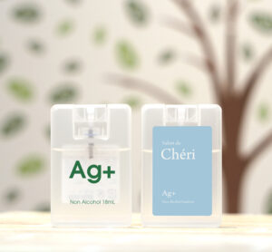 カード型除菌スプレー「銀イオン水」タイプ【日本製】 女性向けノベルティ・販促 オリジナルグッズ製作 -1